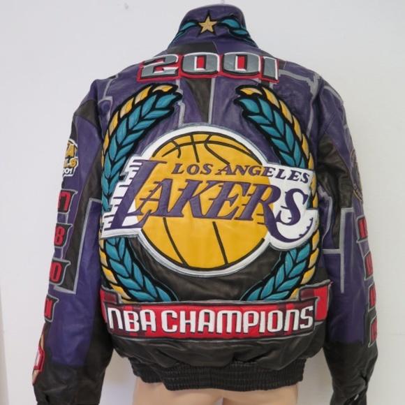 Jeff Hamilton Jackets Coats Signed 2001 Lakers Jacket Ltd Ed Poshmark